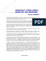 Sarduy Sobre Foucault