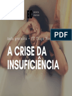 A crise da insuficiência