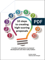 10 Steps to Creating High-scoring Proposals