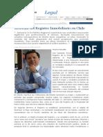 Reforma del registro inmobiliario en Chile