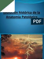 Evolución Histórica de La Patología 2019
