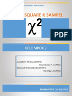 chi square non parametrik