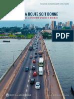 Cote d'Ivoire - QUE LA ROUTE SOIT BONNE Améliorer la mobilité urbaine à Abidjan