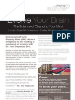 Dr Joe Dispenza - 'Evolve Your Brain' 14th - 16th November 2008 London King's College