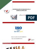 ISO 9001 2015 Generalidades