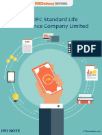 HDFC Standard Life Insurance Company Ltd. - IPO