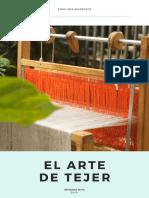 Rosa Ana Manrique el arte de tejer
