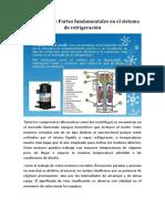 El Compresor Partes Fundamentales en El Sistema de Refrigeración