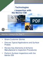 Mentor Training - Surface Inspection Rev 30