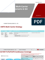 UMTS Multi-Carrier -F3F4 Continuous Scenario & GU Strategy 20181230