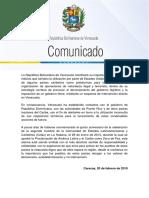 Venezuela Alerta Sobre La Planificación de Operaciones Ilegales en Territorios de Países Caribeños 1
