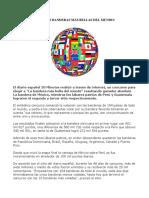 Top 10 Las Banderas Más Bellas Del Mundo