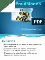 formas farmacéuticas emulsiones