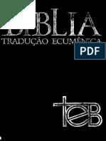 BÍBLIA TRADUÇÃO ECUMÊNICA - TEB.pdf
