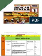 RPT Pendidikan Kesenian Tahun 1