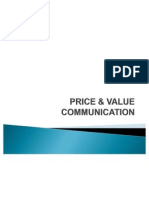 Price & Value Communication