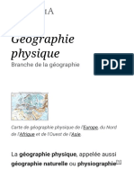 Géographie Physique — Wikipédia (2)