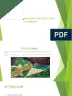 Hidroeléctricas y Desarrollo Local ¿Mito o