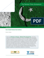 The Pakistan Policy Symposium