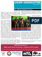 UKMF Newsletter February 2019 Issue 3