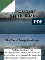 pengantar geothermal