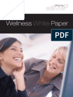Wellness White Paper - Staying Alive