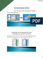 Programación I - Introducción a Sistemas Informáticos
