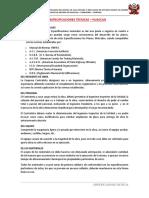 2. Especificaciones Técnicas Saneamiento Básico