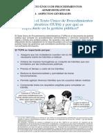 01. Guía Para Mejorar El Texto Unico de Procedimiento