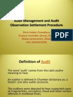 5. Audit Management