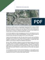 Definición de La Situación y Problema de proyecto de vía en Santa Marta