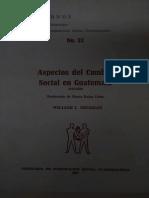 Aspectos del cambio social en Guatemala 1470-1620