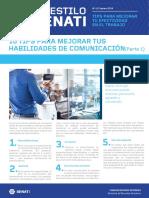 Boletín AES 41 Febrero - Tips Para Mejorar Tus Habilidades de Comunicación (Parte 1)