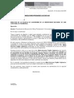 Carta de Presentación Permanencia 2016