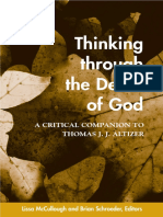 [Suny Series in Theology and Continental Thought] Lissa McCullough, Brian Schroeder (editors) - Thinking Through the Death of God_ A Critical Companion to Thomas J.J. Altizer (2004, State University of New York Press).pdf