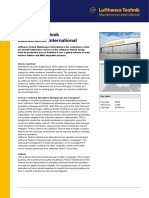 Datasheet Lufthansa Technik Maintenance International