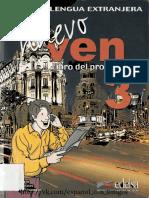 Nuevo Ven 3 - libro del profesor.pdf