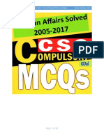 CSS Solved Papers 2005-2017  Pakistan Affairs (MCQs) gcaol.com.pdf