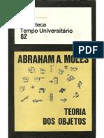 Teoria Dos Objetos Abraham Moles