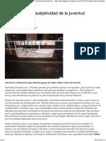 Debate Sobre La Subjetividad de La Juventud Trabajadora - Borroka Garaia Da!