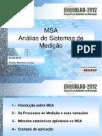 Análise de Sistemas de Medição - Importância e Vantagens Na Aplicação (Anésio Mariano Júnior - Mercedes-Benz Do Brasil)