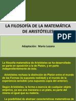 La filosofía de las matemáticas de Aristóteles.pptx