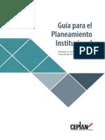 Guía Para El Planeamiento Institucional 2018v01