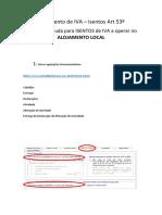 Manual Pagamento de IVA