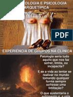 Psicopatologia e Psicologia Arquetípica Experência de Grupos