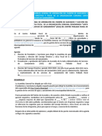 Anexo N° 04 Modelo acta aprobación de Padrón de Asociados y elección del CD y Fiscal sin CE