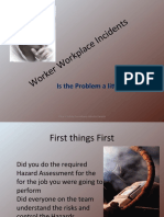 Worker Workplace Incidents