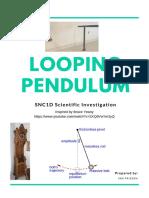 looping pendulum inquiry assignment