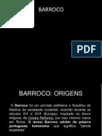 1.Barroco Italiano e Francês   Aula
