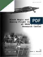 NASA - [Aerospace History 20] - Black Magic and Gremlins, Analog Flight Simulations at NASA's Flight Research Center